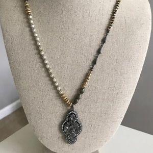 Stella & Dot Relic Pendant Necklace